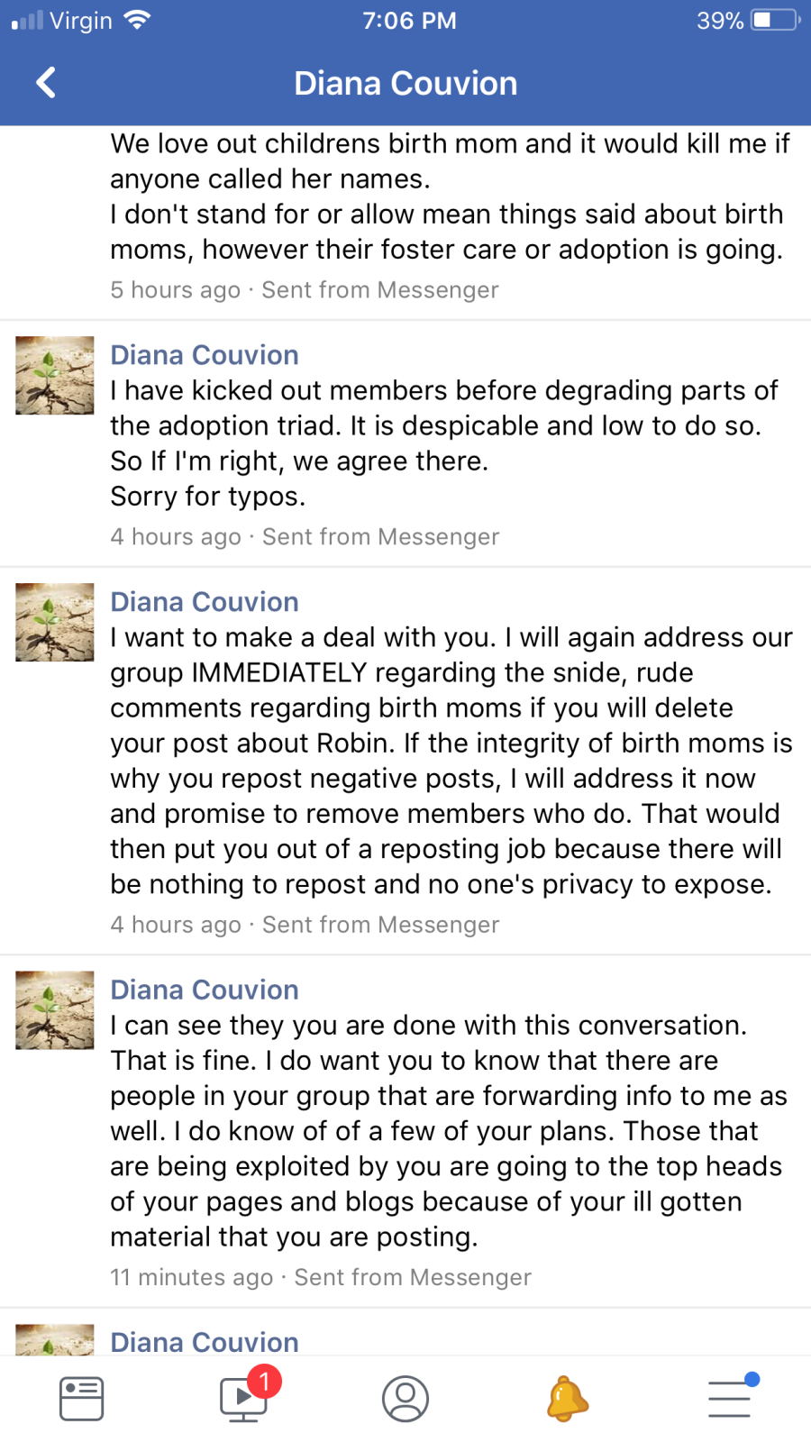 diana message 3