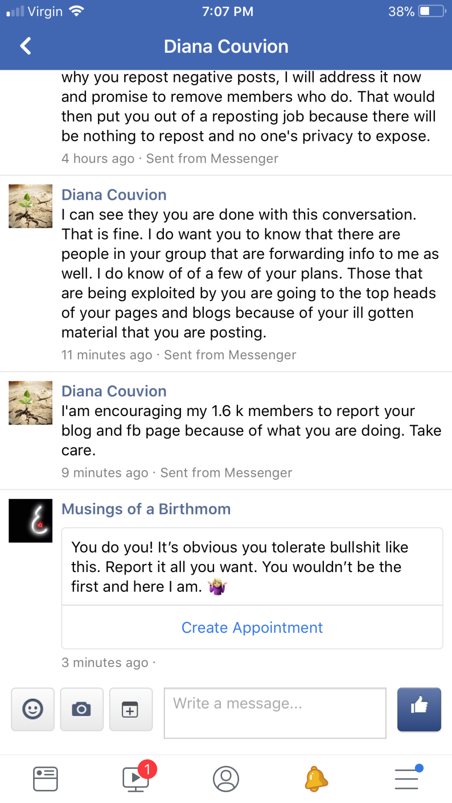 diana message 4